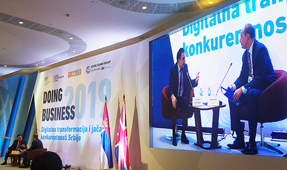 World Bank-2019 doing business Serbia Conference 31 October 2018